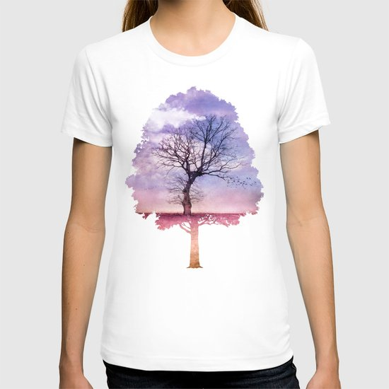 ATMOSPHERIC TREE   Early Spring T-shirt