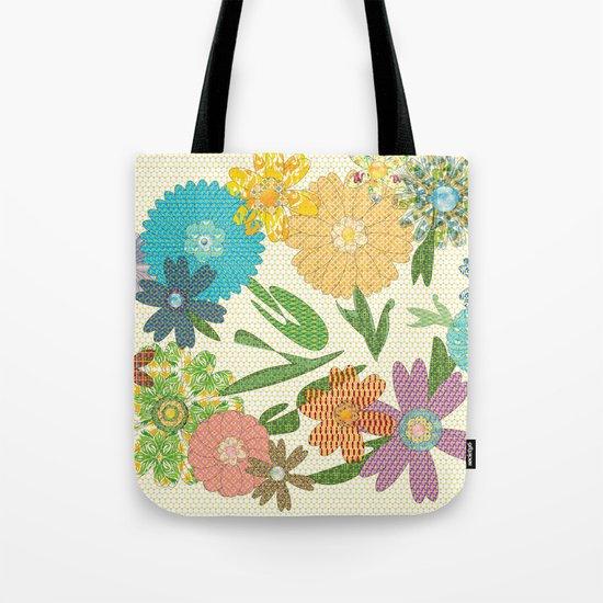 Flower Gardens Tote Bag