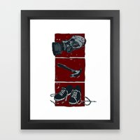 Everything You Need To G… Framed Art Print