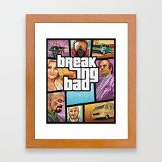 Breaking Bad: GTA  Framed Art Print
