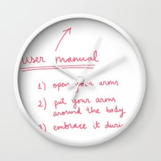 User manual Wall Clock