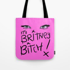 Britney Spears Eyes Tote Bag