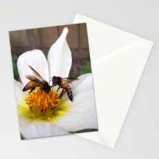 Bees at Work Stationery Cards