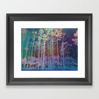 X-ray Yard Framed Art Print
