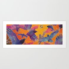 Make Way for the Raven King Art Print