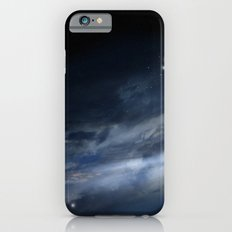 blue galaxy iPhone 6 Slim Case