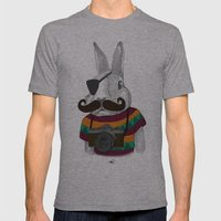 Wabbit Mens Fitted Tee Athletic Grey SMALL