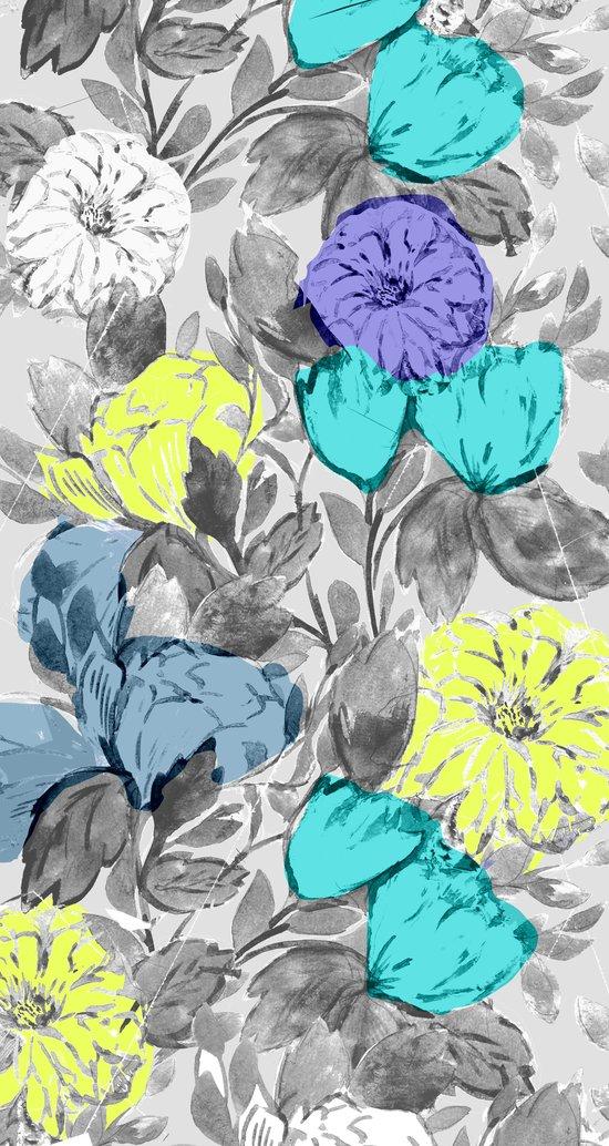 Botanical Flower bright Art Print