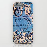 iPhone & iPod Case featuring Moon detail by Kookyphotography