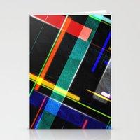 Line Pattern Stationery Cards
