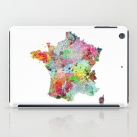 France Map iPad Case