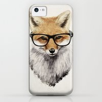 iPhone 5c Cases featuring Mr. Fox by Isaiah K. Stephens