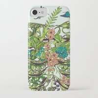death iPhone & iPod Cases featuring Daydreamer by Huebucket
