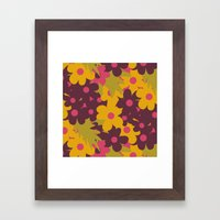 Flowers For Lola Framed Art Print