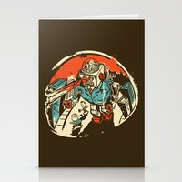 Mechanical Mayhem Stationery Cards