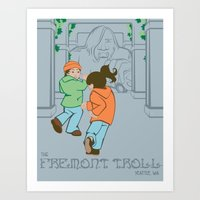 The Fremont Troll Art Print