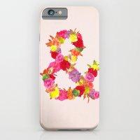 Flower Ampersand iPhone 6 Slim Case