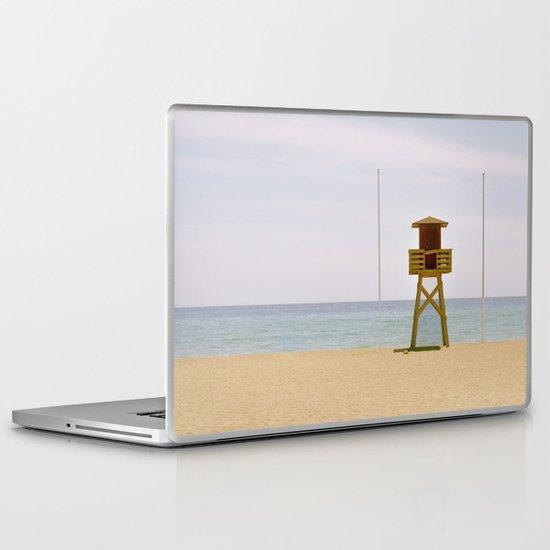 The beach Laptop & iPad Skin