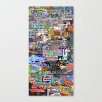 Product Placement Canvas Print