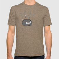 iRock Mens Fitted Tee Tri-Coffee SMALL