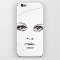 Twiggy  iPhone & iPod Skin