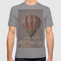 Magical Pink Balloon Mens Fitted Tee Athletic Grey SMALL