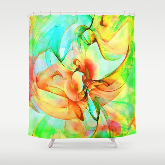Dancing Veil 4 Shower Curtain
