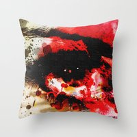 Window Of The Soul - Passion Throw Pillow