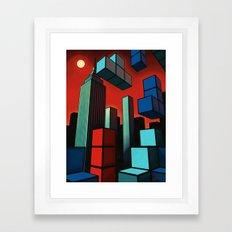 Tetroid Apocalypse Framed Art Print