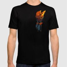 Phobos SMALL Black Mens Fitted Tee