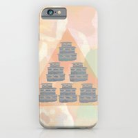 iPhone & iPod Case featuring Cake and Flowers by Bouffants and Broken Hearts