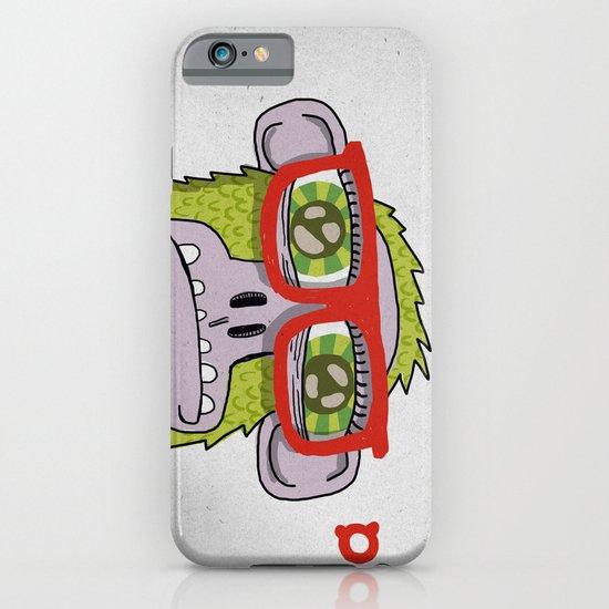 005_monkey glasses iPhone & iPod Case