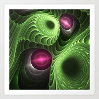 fractal Art Prints featuring Fractal by nicky2342