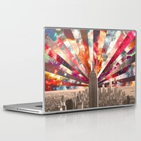 city Laptop & iPad Skins featuring Superstar New York by Bianca Green