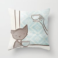 Gigi Fifi Throw Pillow
