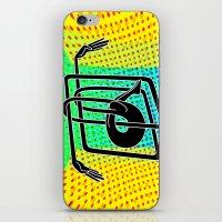 Noodle (yellow) iPhone & iPod Skin