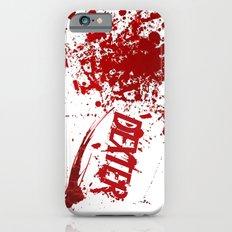 Dexter blood spatter iPhone 6 Slim Case