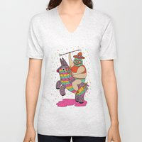 Pinata Party Unisex V-Neck