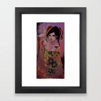Damaged Framed Art Print