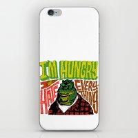 Hungry Earl iPhone & iPod Skin