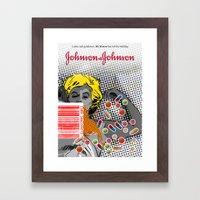 DRUGZZZZZZZZZZZZ Framed Art Print