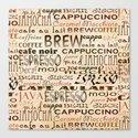 Coffee and Cream Canvas Print