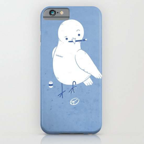 Peaceful painting iPhone & iPod Case