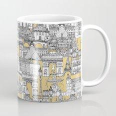 Paris toile gold Mug