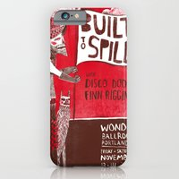 iPhone & iPod Case featuring Built to Spill - Wonder Ballroom, Portland by Santiago Uceda