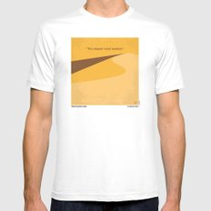 No251 My DUNE minimal movie poster SMALL White Mens Fitted Tee