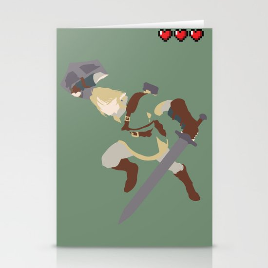 The Legend of Zelda - Link Stationery Card