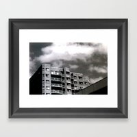 The Real Estate Framed Art Print