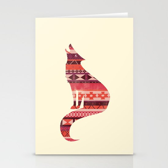 Native Song Stationery Card
