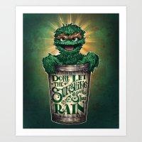 Don't Let The Sunshine R… Art Print